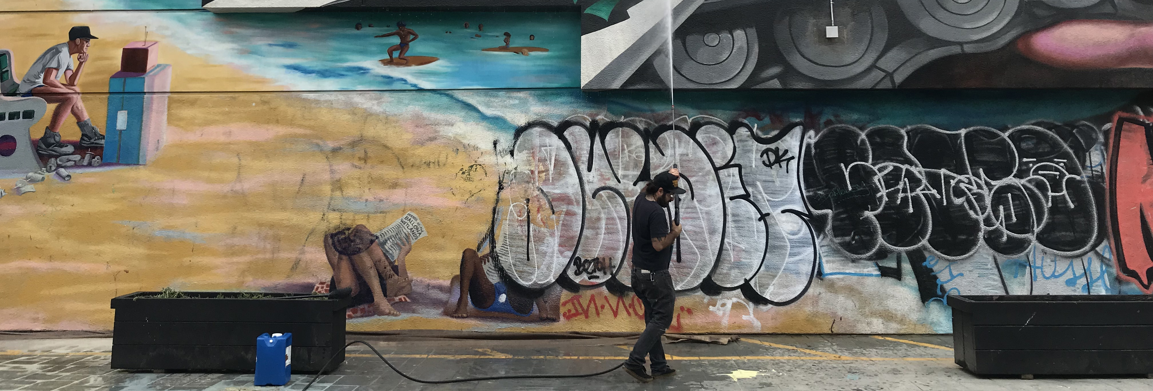 MuralShield by SPARC for the Mural Rescue Program