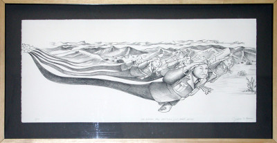 Fighting_442_Limited_Edition_Lithograph