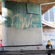Hitting The Wall Mural Restoration 2013 2