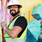 Hitting The Wall Mural Restoration 2013 3