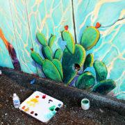 Hitting The Wall Mural Restoration 2013 4