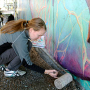 Hitting The Wall Mural Restoration 2013 5