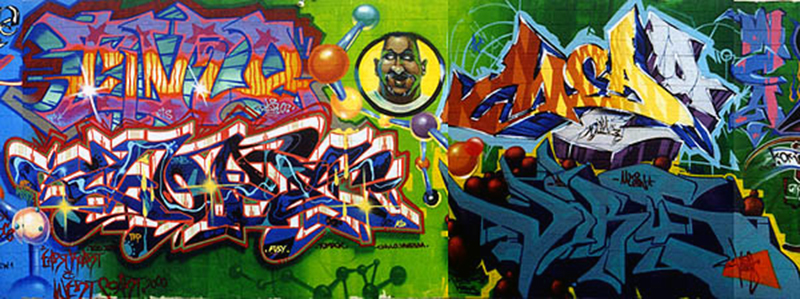 North Hollywood Graffiti Mural 01