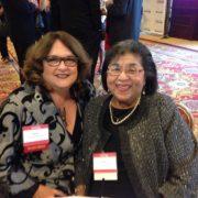 CSUN Award_Judy With Irene Tovar