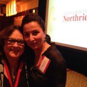 CSUN Award_Judy With Shahrazad Manavi