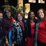 Great Wall Of LA Alumni Then And Now — With Carlos Rogel Diane Ferrari Judy Baca Priscilla Rouse Becker And Bea Plessner Rulli