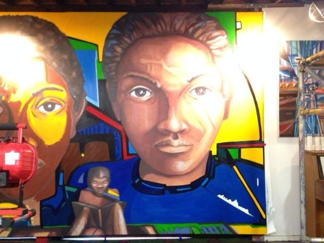 In-Painting in progress
