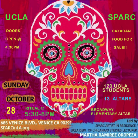 Day of the Dead at SPARC - SPARCinLA