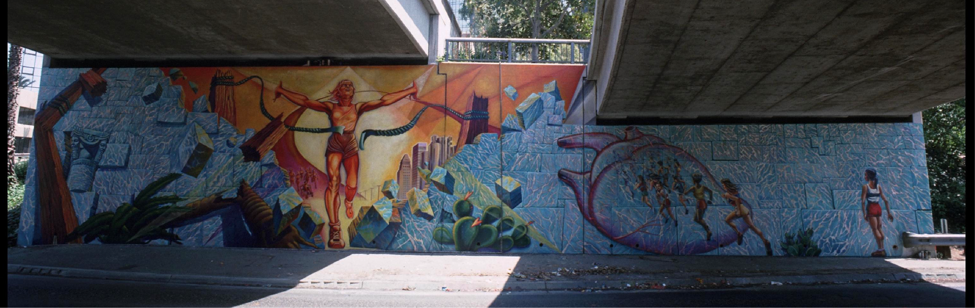 Sign our Petition to Stand for Public Art and Save Iconic Mural 'Hitting The Wall'