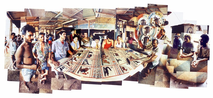 Miners Playing Roulette, Christine Burrill