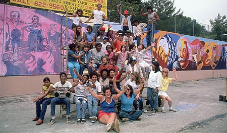 The 1950u0027s Section Was Painted In The Summer Of 1983 With A Crew Of 30  Youth, Seven Artist Supervisors And Muralist Director Judith Baca. Part 83